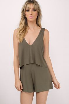 367f9fb66e3b Here comes the sun in the Jackie Layered Shift Romper. The flowy top layer  and