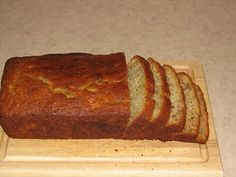 Martha Stewart's banana bread.  We just made this and it's great!  It uses sour cream which helps it stay super moist and yummy.