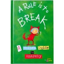 RULE TO BREAK CHILD'S GUIDE TO ANARCHY BOOK