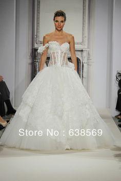 Pnina Wedding Ball Gown! Pnina is my favorite designer!