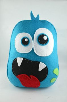 Norton your friendly monster by Tiddlywinkz on Etsy, $15.00