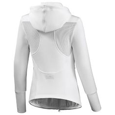 Dames Barricade White Hoodie - Stella McCartney - Adidas