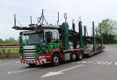 SCANIA cartransporter trailer