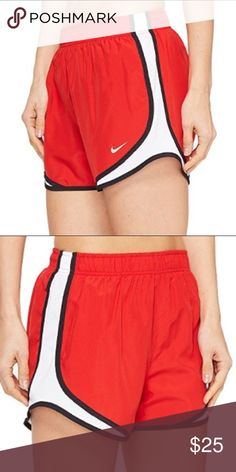 NWOT Nike Dri-Fit Red Shorts🏃♀️ NWOT Colors: Red, White & Black Size: Small  ⭐️5 STAR SELLER⭐️ Buy with Confidence💕 Nike Shorts