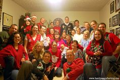 Family Ever After....: Ugly Christmas Sweater Party Recap: All the Details and Decor!