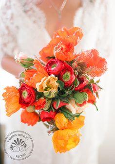 Poppy+Wedding+Bouquet