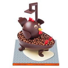 #Uovo di A La Mère De Famille, la cioccolateria più antica di #Parigi