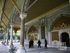 Topkapi Palace, the Imperial Council Chamber, Istanbul, Turkey, Europe Photographic Print by Levy Yadid at Art.com