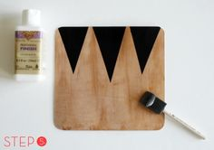 how to make a geometric leather mouse pad. with all the extra leather you've got lying around the house. obviously.
