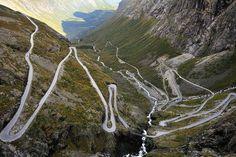 Geiranger-Trollstigen (Troll's Ladder Road) Norway