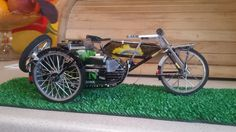 Bicycle side car handmade  ( by faisal rizal )