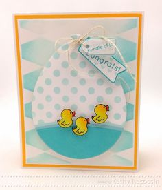 Adorable Creation by Kathy Racoosin using Brand New Exclusives by Simon Says Stamp from their Early Spring Release. Spring Release 2014