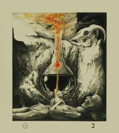 """""""Ego Dominus Tuus"""" 2014  -Art by David Herrerias ."""