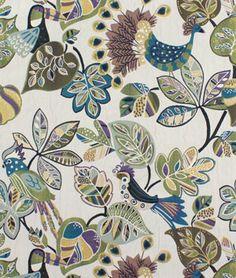 Premier Prints Henna Summerland/Natural Fabric - $7.45 | onlinefabricstore.net