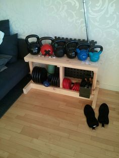Is your workout area cluttered with your weights, are you lacking a weight rack to hold all of your weights to keep things organized, I know I was. I was tired of my weights being all over the garage floor and un-organized, and I didn't want to go and buy