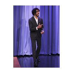 Oscar-nominee and Lion star Dev Patel attended the Jimmy Fallons Tonight Show (@fallontonight) in a total #Valentino look.  via VALENTINO OFFICIAL INSTAGRAM - Celebrity  Fashion  Haute Couture  Advertising  Culture  Beauty  Editorial Photography  Magazine Covers  Supermodels  Runway Models
