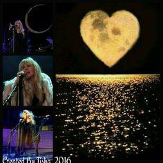 Stevie Nicks 24 Karat Gold Tour, 2016 Collage Created by Tisha 12/15/16