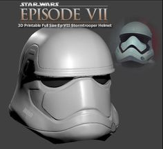 Lee Ya puedes imprimir en 3D el nuevo casco de los soldados imperiales del Episodio VII