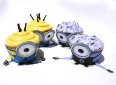 Despicable Me 2  Inspired Minions Cupcake Wrapper Set by Shnookers, $6.00