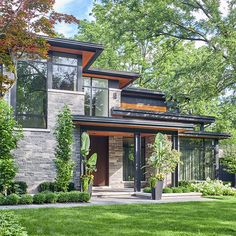 David Small Designs is an award winning custom home design firm. See a portfolio of our Modern Luxury project Design Exterior, Modern Exterior House Designs, Dream House Exterior, Modern Architecture House, Architecture Design, Modern Home Exteriors, House Exteriors, Sustainable Architecture, Luxury Modern Homes