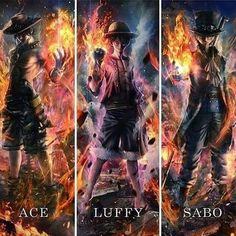 one piece, ace, and luffy image One Piece Manga, One Piece Ace, One Piece Luffy, Manga Anime, Film Manga, Monkey D Luffy, One Piece Figuras, Ace Sabo Luffy, Susanoo