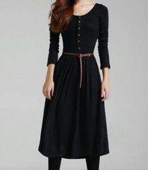 Vintage Knee Length Dress