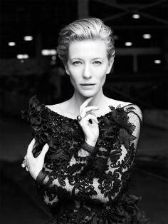 "mylittlespitfire: "" Cate Blanchett by Will Davidson - 2011 """