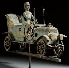 Antique Car Weathervanes