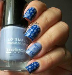 The Clockwise Nail Polish: StampAholics ST03 plate & Bellaoggi 81