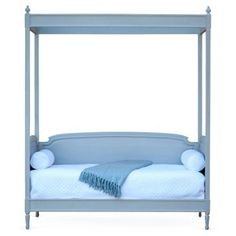 Check out this item at One Kings Lane! St. Andrew's Canopy Daybed, Gray, Twin