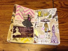 Page in my Paris journal