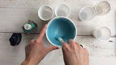A chalk paint vagyis a krétafesték házi receptje - kisFlanc: Kukla Edina Annie Sloan, Painting Techniques, Chalk Paint, Tableware, Wood, Inspiration, Furniture, Home Decor, Youtube