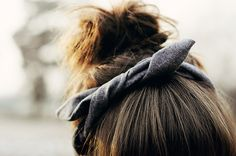 top knot knot.