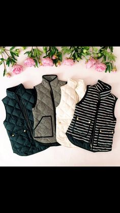 Stitch Fix Fall Fashion! VESTS!! Navy, Herringbone, cream and striped. So perfect for your Fall & Winter wardroble.