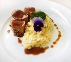 Denné menu Vranov | Bravčová panenka preliata koňakovou omáčkou, smotanové rizoto - reštaurácia Hotel Patriot*** #hotel #restauracia #dennemenu