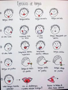 Ejercicios orofaciales / Estimulando la lengua | Fisioterapia y Terapia… Más Oral Motor Activities, Speech Therapy Activities, Preschool Activities, Apraxia, Speech Language Pathology, Speech And Language, Kids Education, Special Education, Cv Pdf