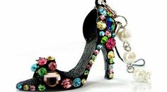 Beyondfashion Crystal Rhinestone Diamante High Heel Shoe Decoration Chain for Phone Car Bag Key Ring keychain Char No description (Barcode EAN = 6914376806231). http://www.comparestoreprices.co.uk/womens-shoes/beyondfashion-crystal-rhinestone-diamante-high-heel-shoe-decoration-chain-for-phone-car-bag-key-ring-keychain-char.asp