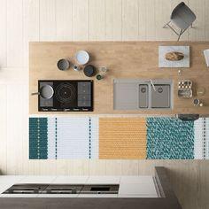 keukenloper vinyl K02 STERK-design