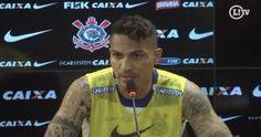Paolo Guerrero anotó el gol del título del Mundial de Clubes de Corinthians ante Chelsea. Su declaración sobre Sao Paulo encendió polemicas. Setiembre 12, 2014.