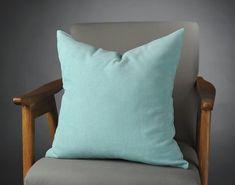Aqua Pillow, Aqua Velvet Pillow, Turquoise Velvet Pillow, Aqua Velvet Bed Pillow, Turquoise Velvet Bed Pillow, mothers day gift