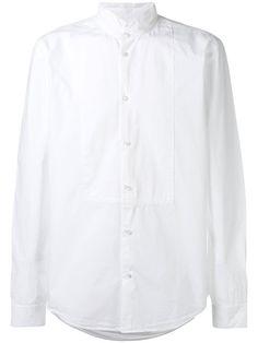 DONDUP Long Sleeve Collarless Shirt. #dondup #cloth #shirt