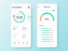 Mobile Data designed by JasonGYF. Connect with them on Dribbble; Web Design, App Ui Design, Interface Design, Design Layouts, Flat Design, User Interface, Ui Design Mobile, App Design Inspiration, Data Plan