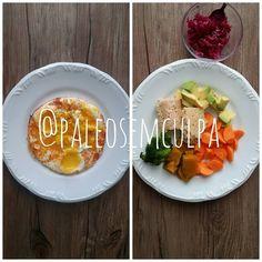 resumo das duas refeições até agora: 3 ovos frango abacate cenoura brócolis abóbora japonesa e chucrute. :) Tem dúvidas sobre a paleo? LINK NA BIO! #dieta #dietas #dietasempre #dietasemsofrer #dietapaleolitica #dietapaleo #paleo #paleofood #paleobrasil #paleolitica #paleolife #paleolifestyle #paleodiet #mydiet #eatclean #primal #primalfood #realfood #bixoeplanta #bichoeplanta #eatreal #fit #primalbrasil #fitfood #reeducacaoalimentar #saude #saudavel #vidasaudavel #comersaudavel…