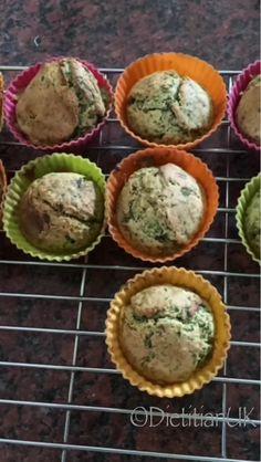 Dietitian UK:Spinach Savoury Muffins