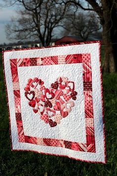 My Valentine Quilt ... by FN | Quilting Pattern. @Becky Hui Chan w.