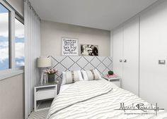 Dormitório fofura do dia  #MicheleRavadeli #interiordesigner #design #decoration #decor #instadecor #relaxing #relax #tricot #winter #love #bedroom #bedroomdecor #bedrooms #romantic #couple