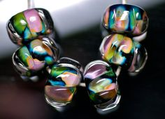 Lampworking Tutorial  How To Encase Beads by Paul Spencer