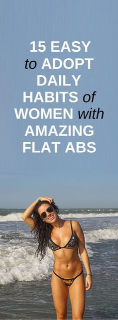 15 Daily Habits of Women With Amazing Abs - Vicky Is Now Fit Dumbbell Ab Workout, Hiit Abs, Pooch Workout, Six Pack Abs Workout, Abs Workout Routines, Pooch Exercise, Fast Weight Loss, Weight Loss Program, Belly Fat Burner Workout