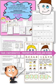 Properties of Odds and Evens Looking at odd and even numbers and how to use them when calculating.