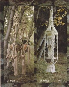 Save this pin for later -- Macrame Elegance Vintage Patterns - Plant Hangers Wall-hanging Owl Tow – #macrame #vintagemacrame #macramepatterns